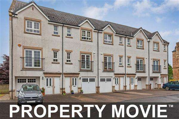 3 Bedrooms Town House for sale in Parklands Oval, Crookston, Glasgow, G53 7SZ