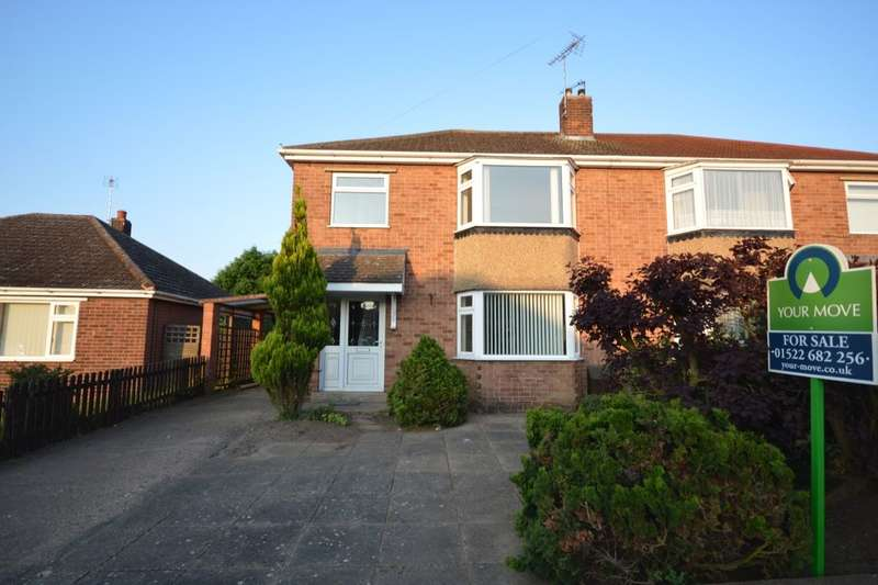 3 Bedrooms Semi Detached House for sale in Harewood Crescent, North Hykeham, Lincoln, LN6