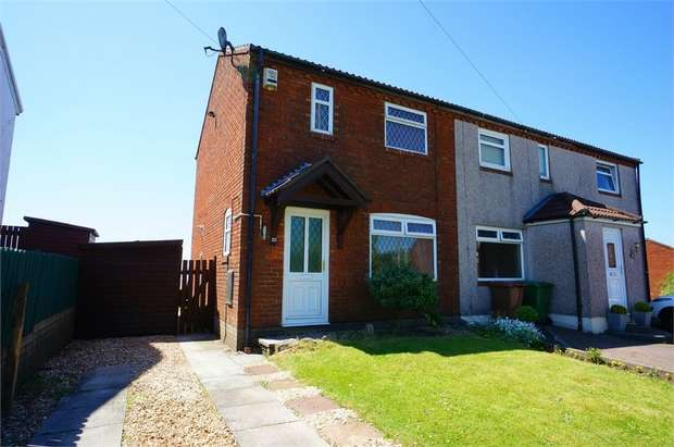 2 Bedrooms Semi Detached House for sale in Cotswold Way, Risca, NEWPORT, Caerphilly