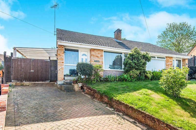 2 Bedrooms Semi Detached Bungalow for sale in Sullivan Road, Exeter, EX2