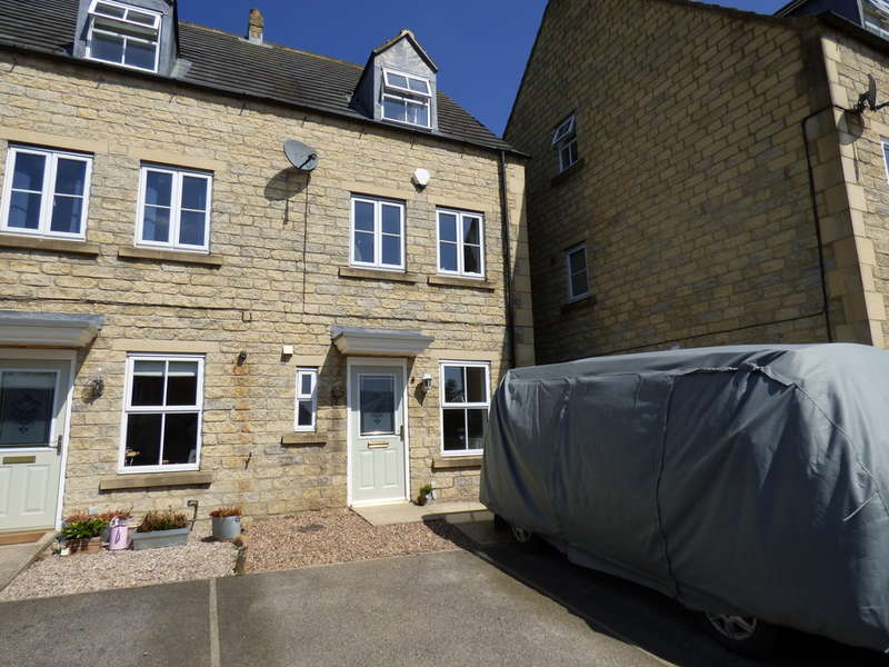 3 Bedrooms End Of Terrace House for sale in 25 Dale Way, Leyburn