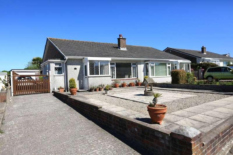 3 Bedrooms Semi Detached Bungalow for sale in Wembury, Plymouth