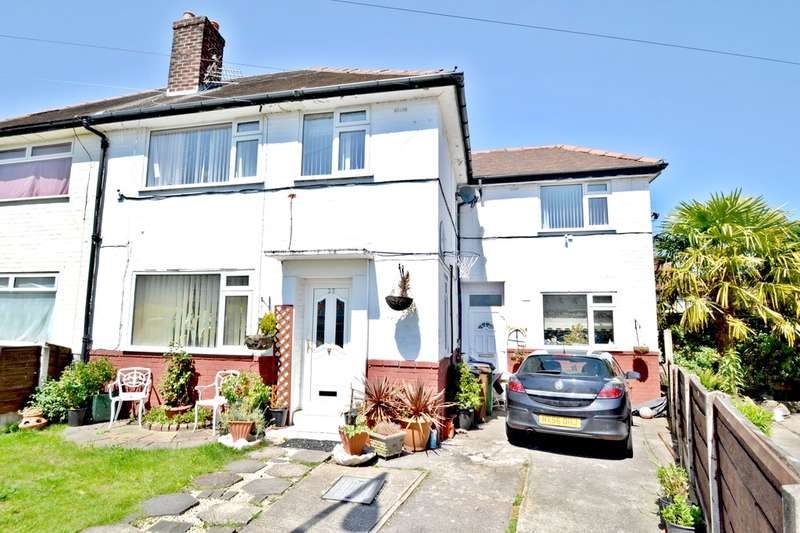 4 Bedrooms Semi Detached House for sale in Kent Avenue, Cheadle Hulme