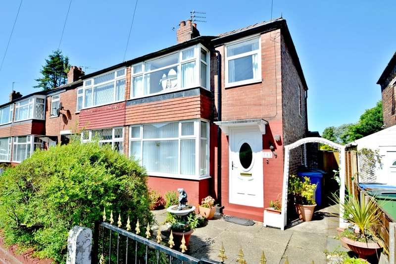 2 Bedrooms End Of Terrace House for sale in St Davids Road, Cheadle