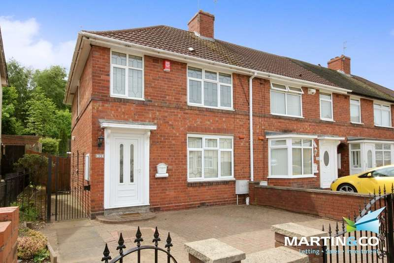 3 Bedrooms End Of Terrace House for sale in Auckland Road, Smethwick, B67