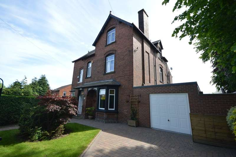 4 Bedrooms Semi Detached House for sale in Bradford Road, Wakefield