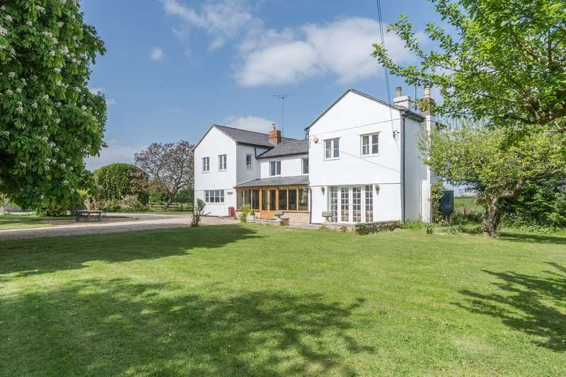 4 Bedrooms Detached House for sale in Leigh, Near Cricklade