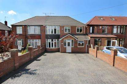 4 Bedrooms Semi Detached House for sale in Broom Lane, Rotherham, South Yorkshire