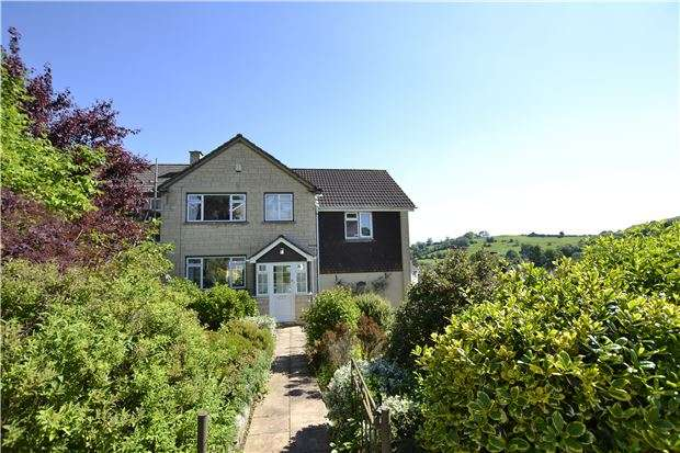 5 Bedrooms Semi Detached House for sale in Leighton Road, BATH, Somerset, BA1 4NF