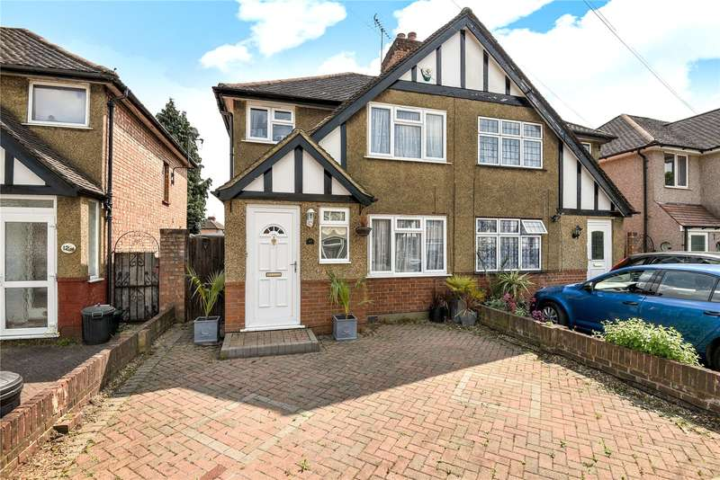 3 Bedrooms Semi Detached House for sale in Glisson Road, Hillingdon, Middlesex, UB10