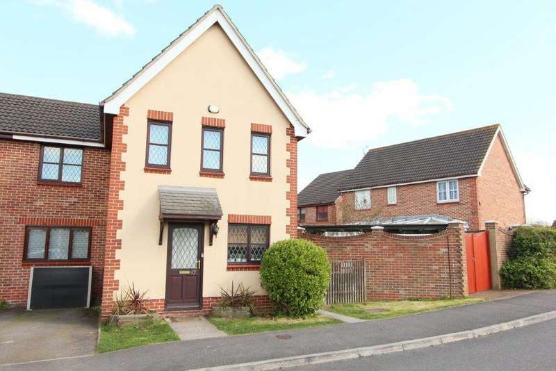 3 Bedrooms Semi Detached House for sale in West End SO30