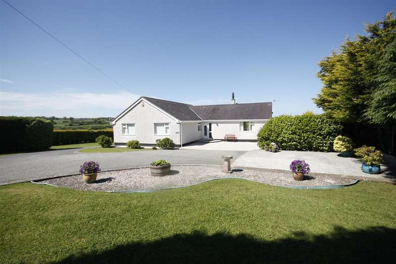 4 Bedrooms Detached Bungalow for sale in Meillion, Lon Benllech, Pentraeth