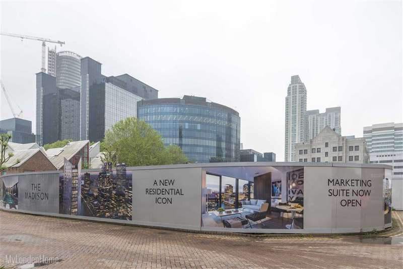 2 Bedrooms Property for sale in The Madison, Canary Wharf, London, E14