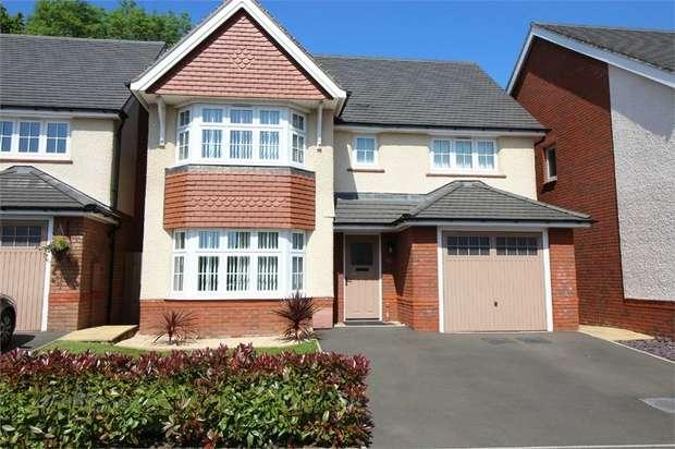 4 Bedrooms Detached House for sale in 36 Coed Y Felin, New Inn, PONTYPOOL, Torfaen