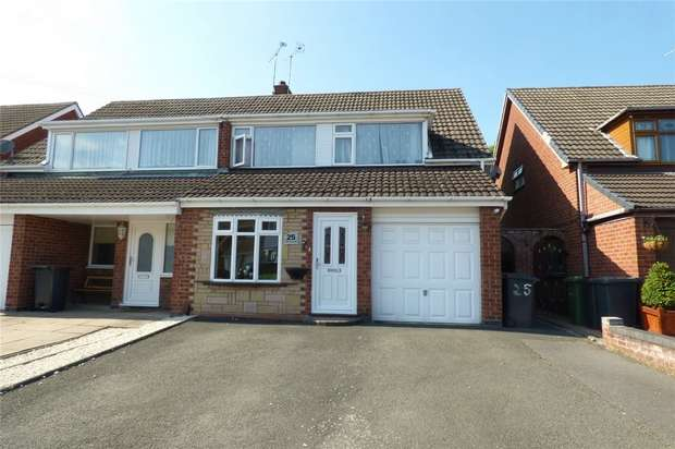 3 Bedrooms Semi Detached House for sale in Waltham Crescent, Stockingford, Nuneaton, Warwickshire