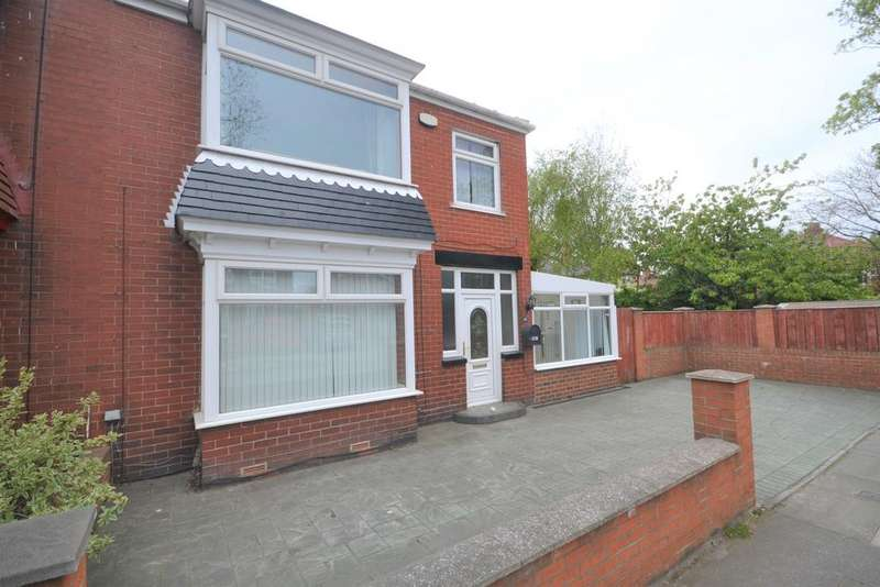 3 Bedrooms Semi Detached House for sale in Ings Road, Redcar TS10