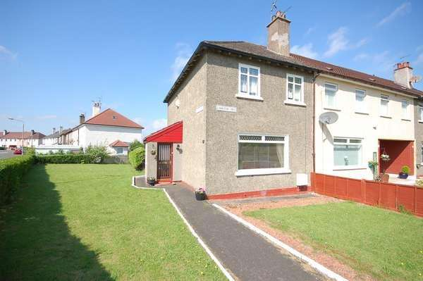 2 Bedrooms End Of Terrace House for sale in 95 Langton Crescent, Pollok, Glasgow, G53 5LW