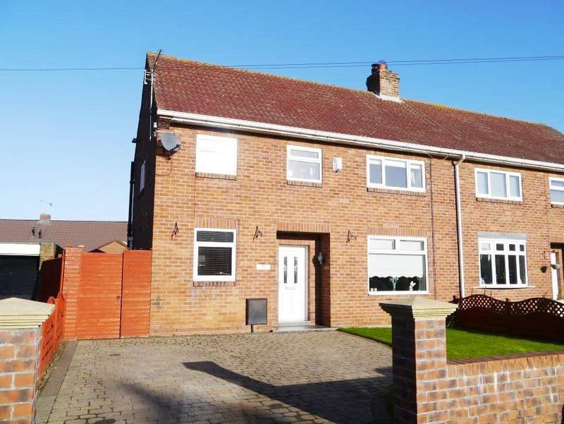 5 Bedrooms Semi Detached House for sale in Beechwood Place, Ponteland