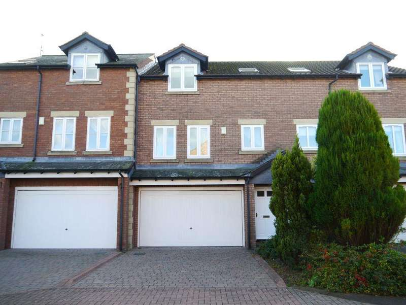 3 Bedrooms Terraced House for sale in Guardians Court, North Road, Ponteland