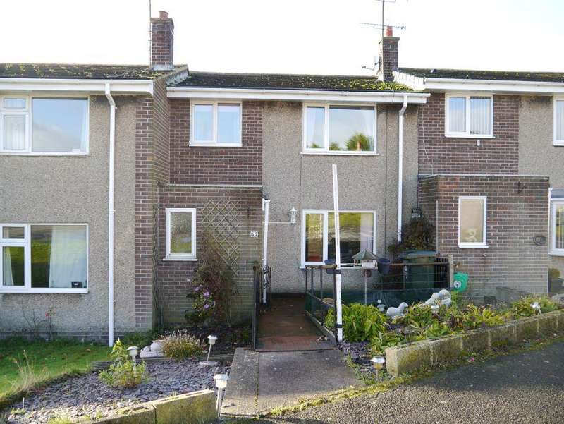 3 Bedrooms Terraced House for sale in Brierley Gardens, Otterburn, Northumberland