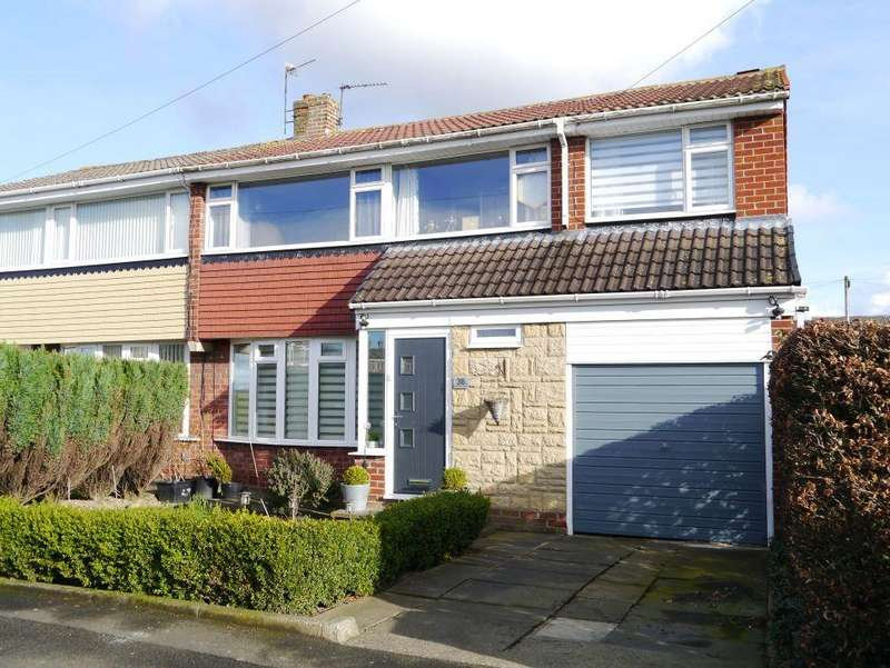4 Bedrooms Semi Detached House for sale in Eddrington Grove, Chapel House
