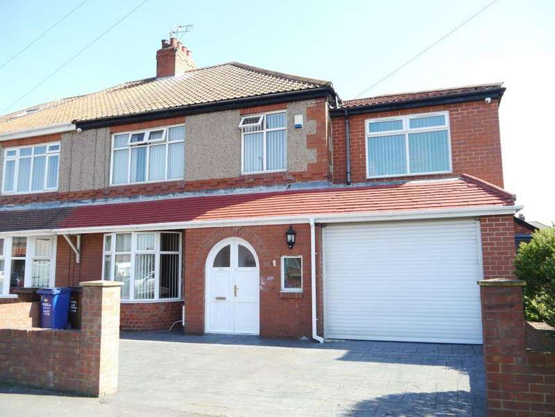 4 Bedrooms Semi Detached House for sale in Two Ball Lonnen, Fenham