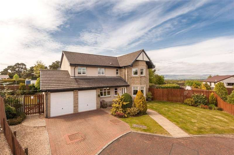 5 Bedrooms Detached House for sale in 2 Gallowhill Place, Auchterarder, Perthshire, PH3