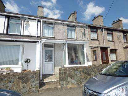 2 Bedrooms Terraced House for sale in Llwyndu Road, Penygroes, Caernarfon, Gwynedd, LL54