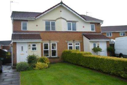 3 Bedrooms Semi Detached House for sale in Squires Wood, Fulwood, Preston, Lancashire, PR2