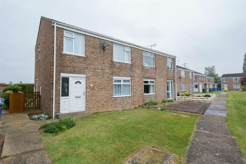 3 Bedrooms Semi Detached House for sale in Clarke Court, Wyberton, Boston, Lincolnshire
