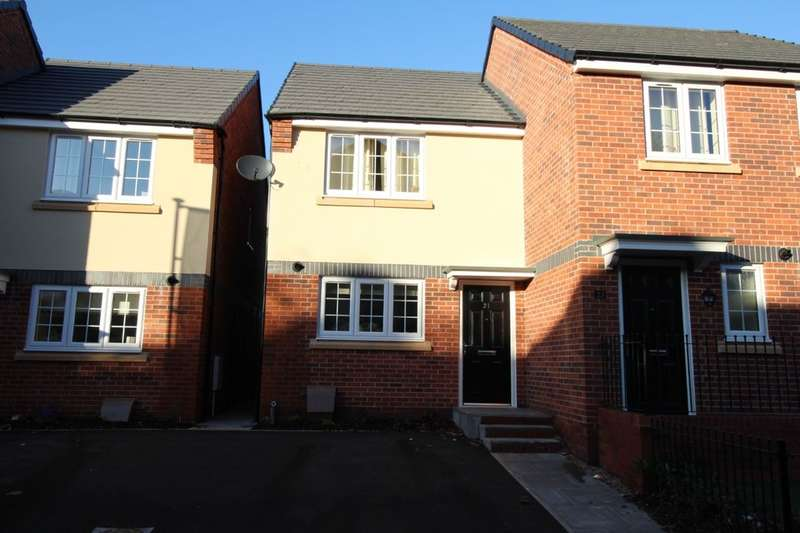 2 Bedrooms Semi Detached House for sale in Lyme Gardens, Commercial Road, Hanley, Stoke-On-Trent, ST1