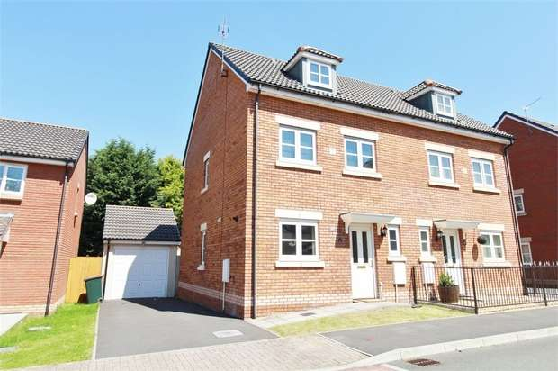 3 Bedrooms Town House for sale in Amelia Grove, NEWPORT