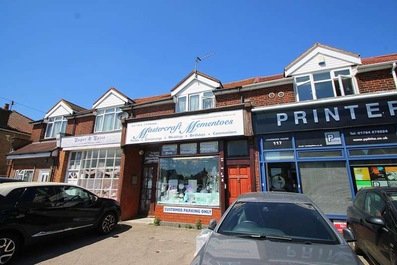 2 Bedrooms Flat for sale in Feltham Road, Ashford, TW15