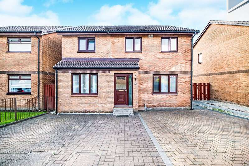 4 Bedrooms Detached House for sale in Medrox Gardens, Condorrat, Cumbernauld, G67