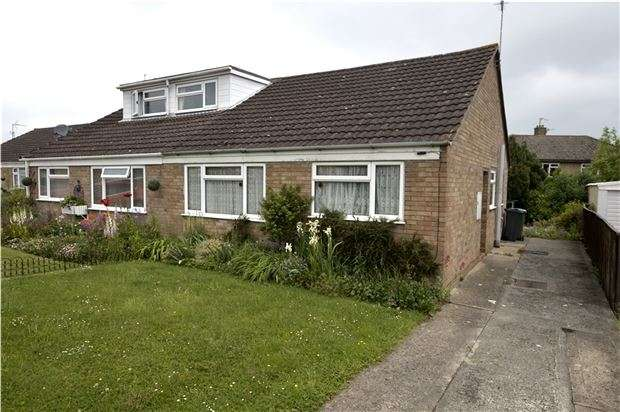 2 Bedrooms Semi Detached Bungalow for sale in Dozule Close, Leonard Stanley, Gloucestershire, GL10 3NL