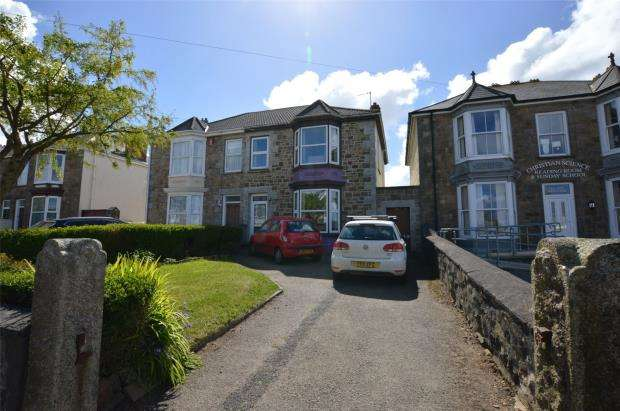 4 Bedrooms Semi Detached House for sale in Dolcoath Road, Camborne, Cornwall