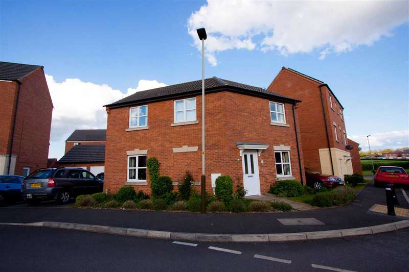 3 Bedrooms Detached House for sale in Kepwick Road, Hamilton, Leicester