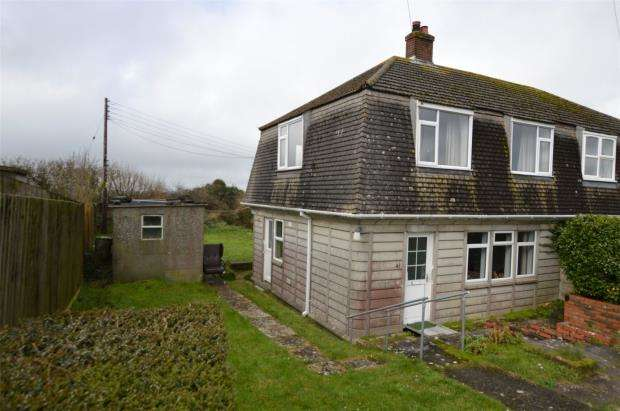 3 Bedrooms Semi Detached House for sale in Carworgie Way, St. Columb Road, St. Columb, Cornwall