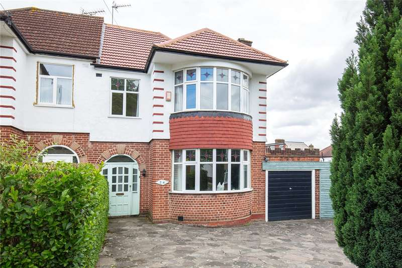 3 Bedrooms Semi Detached House for sale in Prince George Avenue, Southgate, N14