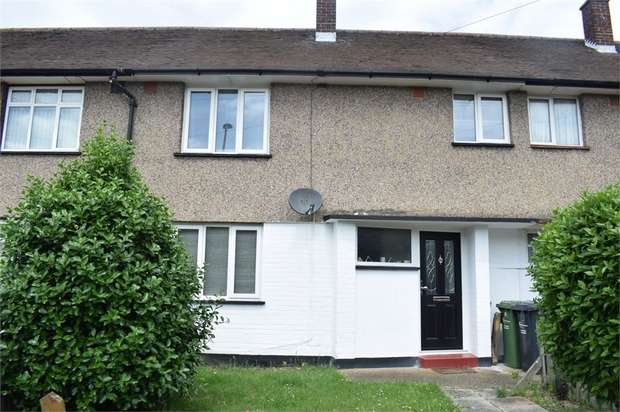 3 Bedrooms Terraced House for sale in Thatches Grove, Romford, Essex