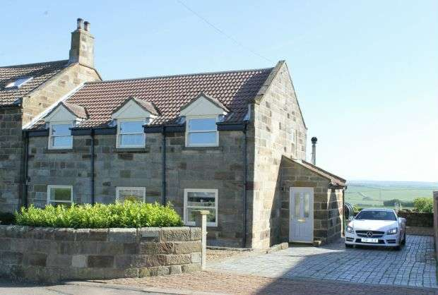 3 Bedrooms Property for sale in The Wagon House, Street House Farm, Boulby Cliffs