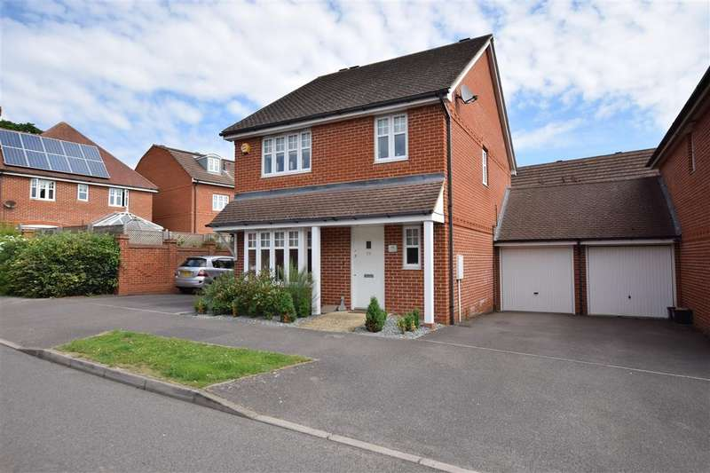 3 Bedrooms Detached House for sale in Skylark Way, Shinfield, Reading, RG2