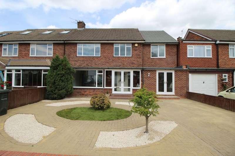 4 Bedrooms Semi Detached House for sale in Eddleston Avenue, Newcastle Upon Tyne, NE3