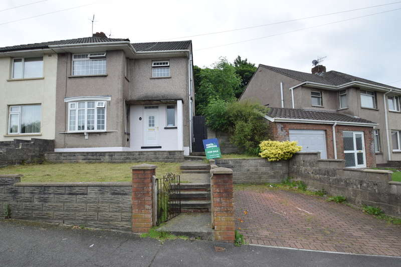 3 Bedrooms Semi Detached House for sale in 6 Ffordd Y Mynach, Pyle, Bridgend County Borough, CF33 6HT