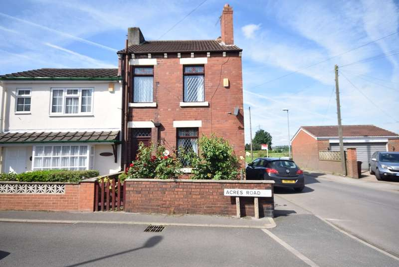 2 Bedrooms Semi Detached House for sale in Acres Road, Lofthouse, Wakefield