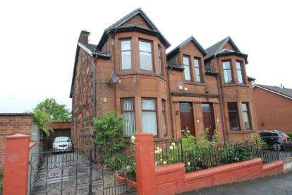 4 Bedrooms Semi Detached House for sale in Hillview Street, Glasgow, Lanarkshire