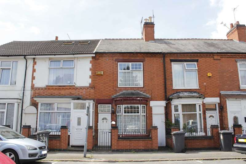 3 Bedrooms Terraced House for sale in Stafford Street, Leicester