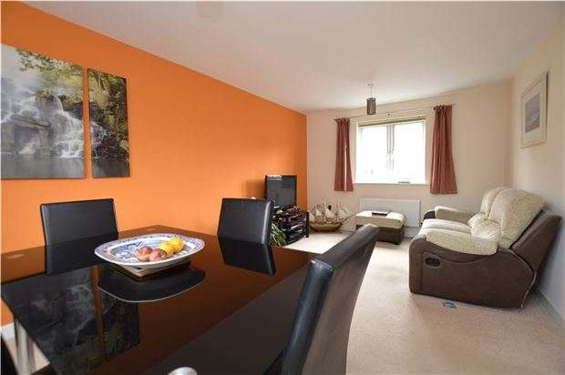 2 Bedrooms Flat for sale in Jack Russell Close, Stroud, Gloucestershire, GL5 4EJ