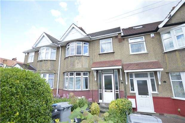 3 Bedrooms Terraced House for sale in Holden Avenue, KINGSBURY, NW9 8HR