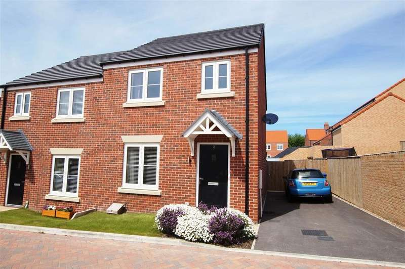 3 Bedrooms Semi Detached House for sale in Butterbur Lane, Scalby, Scarborough